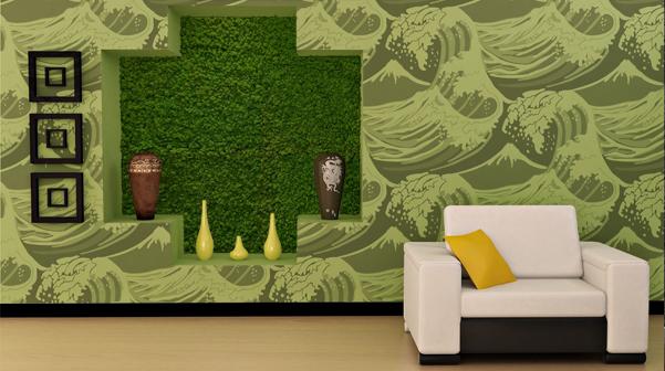 carta_da_parati_personalizzata_wallpaper_interior_design_living_room_salotto_green