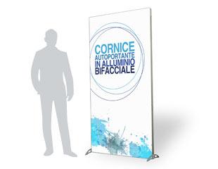 Cornice_alluminio_bifacciale_reparto_stampa