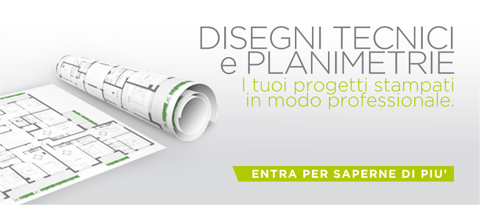Stampa digitale online piccolo e grande formato for Planimetrie personalizzate