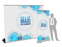 Roll-up ed Espositori Porta Banner
