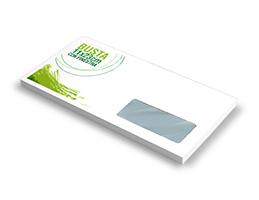 Buste da lettera e buste sacco personalizzate - Buste 11x23 senza finestra ...