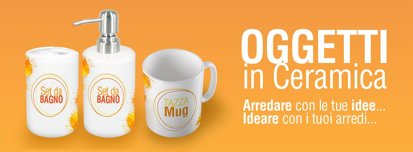 Stampa ceramiche personalizzate - Oggetti ceramica design ...
